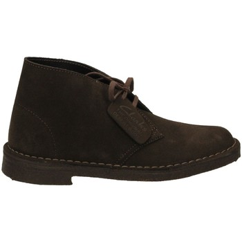 Zapatos Mujer Low boots Clarks DESERT BOOT W Marrón