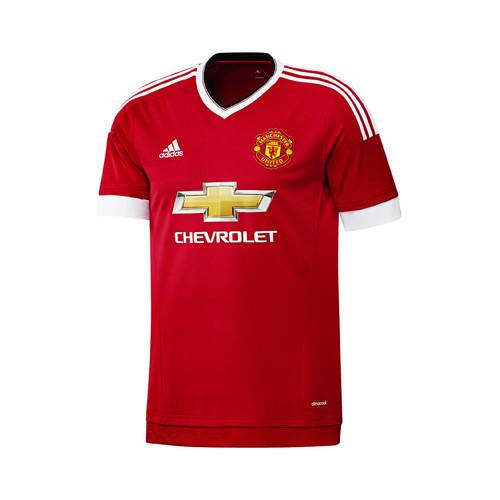 textil Hombre camisetas manga corta adidas Performance Maillot Manchester United Domicile 2015/16 Rojo