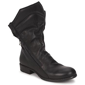 Zapatos Mujer Botas de caña baja Strategia FIOULI Negro