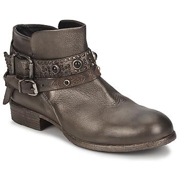 Zapatos Mujer Botas de caña baja Strategia YIHAA Plateado