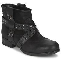 Zapatos Mujer Botas de caña baja Strategia LUMESE Negro