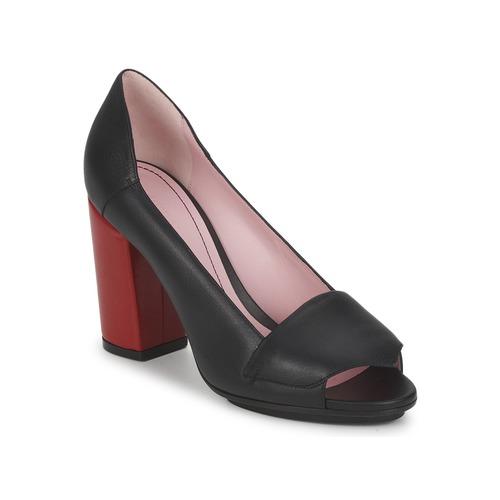 Zapatos Mujer Zapatos de tacón Sonia Rykiel 657940 Negro / Rojo