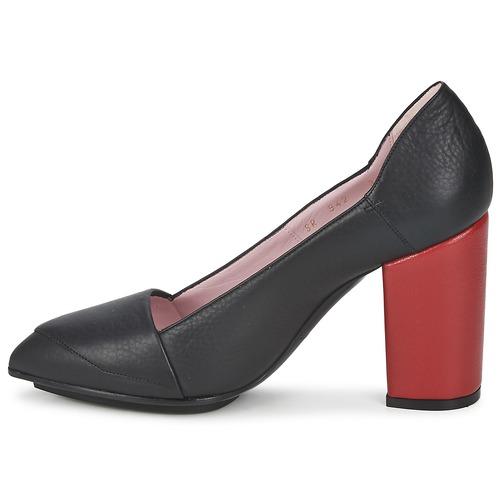 NegroRojo Tacón Zapatos Rykiel Sonia De rCBedxo