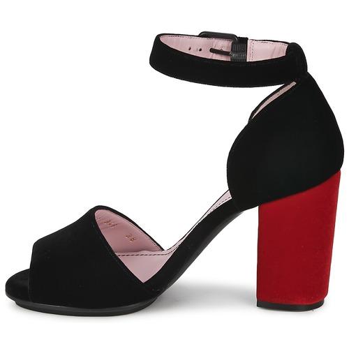 Los últimos zapatos de descuento para hombres y mujeres Zapatos especiales Sonia Rykiel 657946 Negro / Rojo