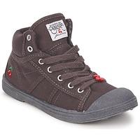 Zapatos Niños Zapatillas altas Le Temps des Cerises BASIC-03 KIDS Marrón