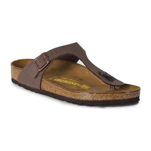 Zapatos Mujer Sandalias Birkenstock Gizeh marron
