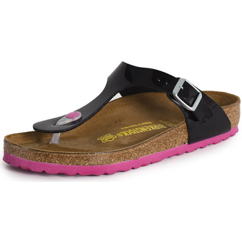 Zapatos Mujer Sandalias Birkenstock Gizeh noir