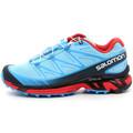 Zapatos Mujer Running / trail Salomon Wings Pro Bleu