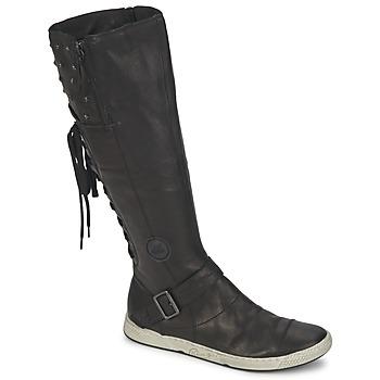 Zapatos Mujer Botas urbanas Pataugas JOSS Negro