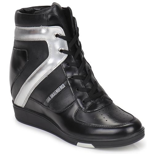 Zapatos promocionales Bikkembergs JODIE 2 Negro  Venta de liquidación de temporada