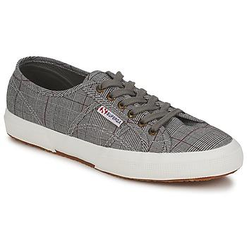 Zapatos Hombre Zapatillas bajas Superga 2750 GALLESU Gris / Blanco