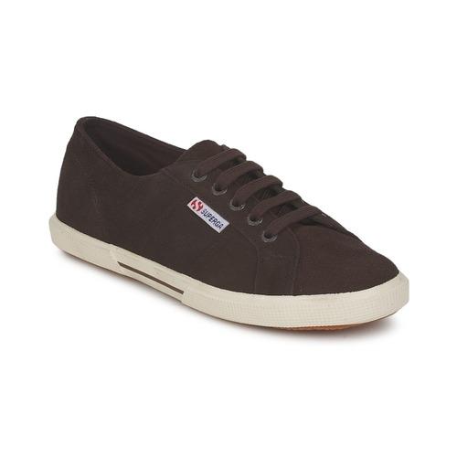 Zapatos Mujer Zapatillas bajas Superga 2950 Chocolate