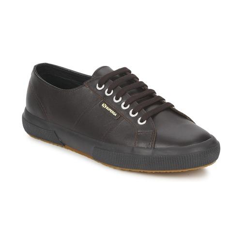 Zapatos Zapatillas bajas Superga 2750 Chocolate