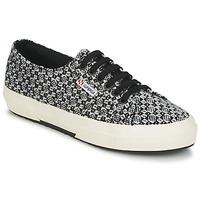 Zapatos Mujer Zapatillas bajas Superga 2750 FANTASY Negro / Blanco