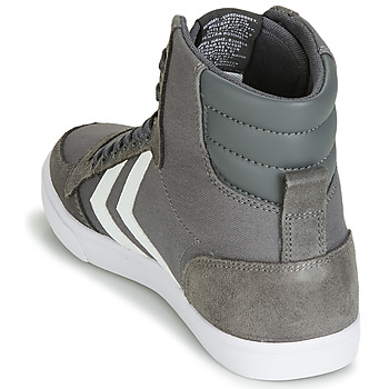 Hummel TEN STAR HIGH Gris / Blanco