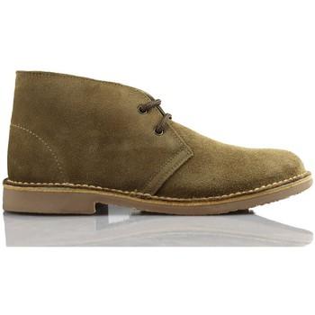 Zapatos Zapatillas altas Arantxa ARANCHA PISACACAS COMODOS UNISEX PIEL BEIGE
