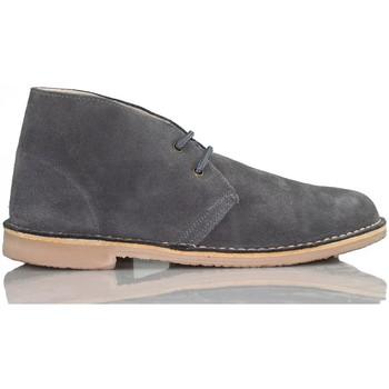 Zapatos Zapatillas altas Arantxa ARANCHA PISACACAS COMODOS UNISEX PIEL GRIS
