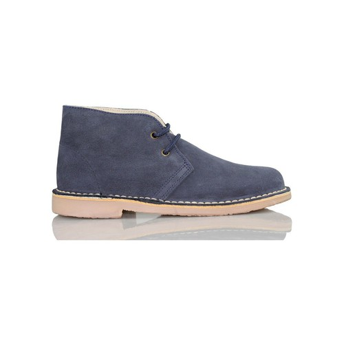 Zapatos Zapatillas altas Arantxa ARANCHA PISACACAS COMODOS UNISEX PIEL MARINO