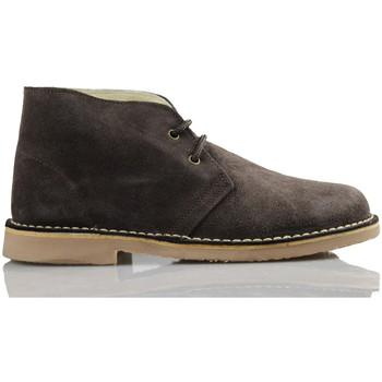 Zapatos Zapatillas altas Arantxa ARANCHA PISACACAS COMODOS UNISEX PIEL MARRON