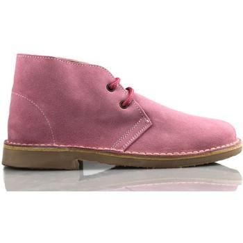 Zapatos Zapatillas altas Arantxa ARANCHA PISACACAS COMODOS UNISEX PIEL ROSA