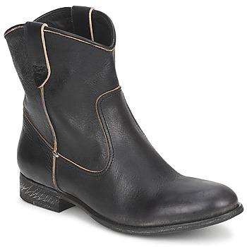 Zapatos Mujer Botas de caña baja n.d.c. SAN MANUEL CAMARRA SLAVATO Negro