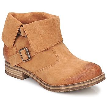 Zapatos Mujer Botas de caña baja Casual Attitude ELDONE Marrón