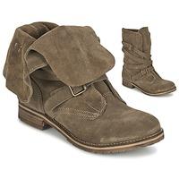 Zapatos Mujer Botas de caña baja Casual Attitude GRAVINE Marrón