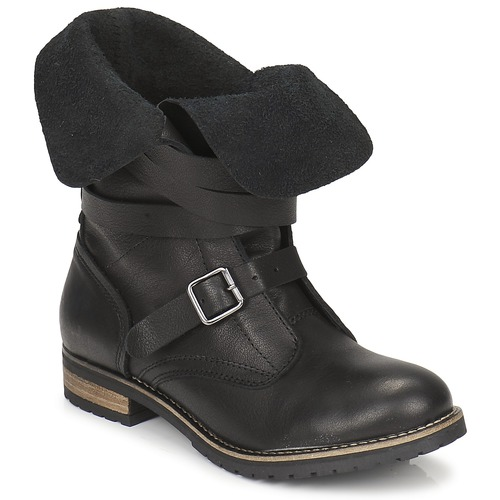 Zapatos Mujer Botas de caña baja Casual Attitude GRAVINE Negro