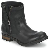 Zapatos Mujer Botas de caña baja Casual Attitude ISPINI Negro