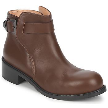 Zapatos Mujer Botas de caña baja Kallisté 5723 Marrón
