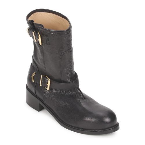 Zapatos Mujer Botas de caña baja Kallisté 5609 Negro