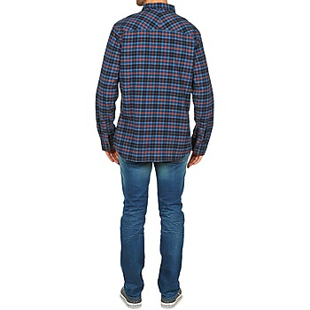 Rip Curl OBSESSED CHECK FLANNEL L/S SHIRT Azul
