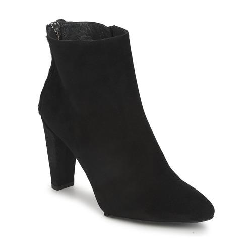 Zapatos Mujer Botas de caña baja Stuart Weitzman ZIPMEUP Negro