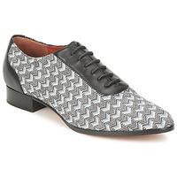 Zapatos Mujer Richelieu Missoni WM076 Negro / Gris