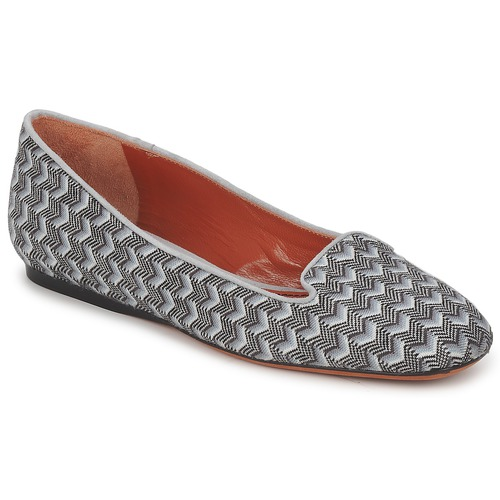Zapatos Mujer Mocasín Missoni WM079 Gris