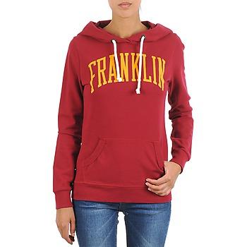 textil Mujer sudaderas Franklin & Marshall TOWNSEND Rojo