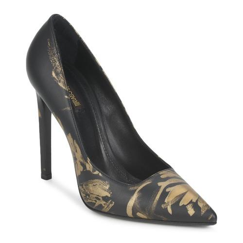 Zapatos Mujer Zapatos de tacón Roberto Cavalli WDS211 Negro