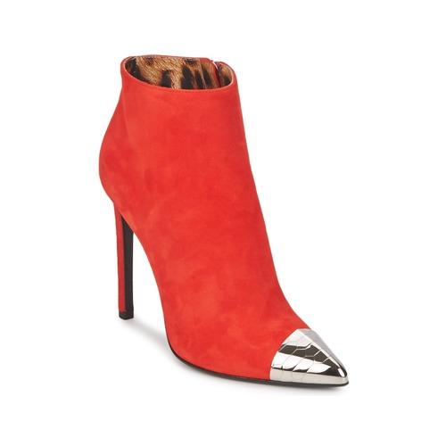 Zapatos Mujer Botines Roberto Cavalli WDS213 Rojo