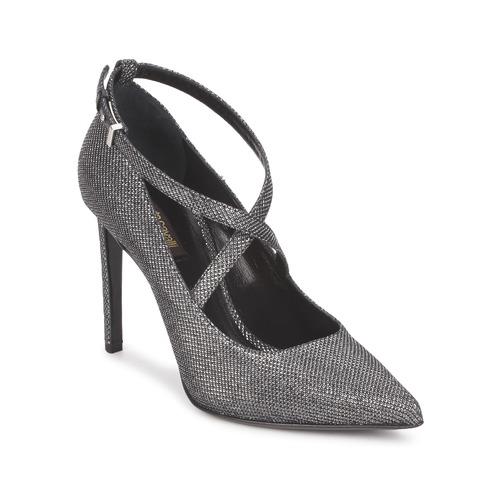 Zapatos Mujer Zapatos de tacón Roberto Cavalli WDS234 Gris