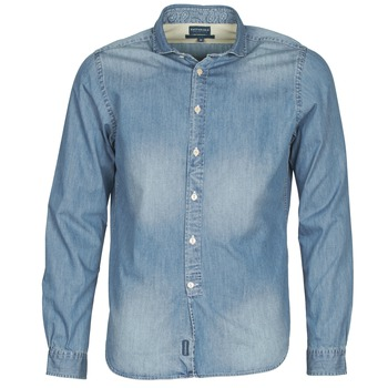textil Hombre camisas manga larga Façonnable PLUSAMO Azul
