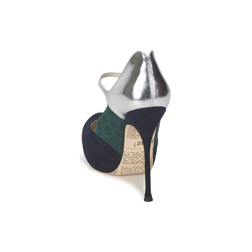 NegroGris Tacón Galliano Zapatos Mujer De Ao2179 John kZiuPlwOTX