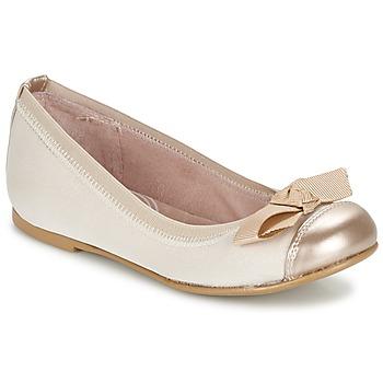 Zapatos Niña Bailarinas-manoletinas Garvalin MAT Beige