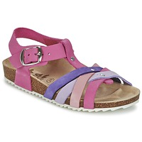 Zapatos Niña Sandalias Garvalin MAT Rosa