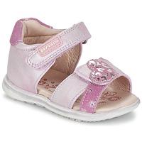 Zapatos Niña Sandalias Garvalin NORTON Rosa