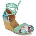 Zapatos Mujer Sandalias Art VALBY 499 Verde