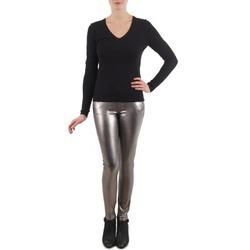 textil Mujer pantalones con 5 bolsillos S.Oliver PANTS Plateado