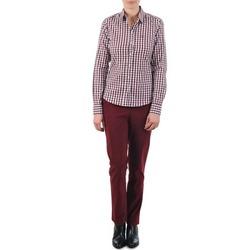 textil Mujer Pantalones chinos Gant C. COIN POCKET CHINO Burdeo