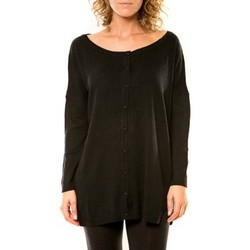textil Mujer Chaquetas de punto Vision De Reve Vision de Rêve Gilet 12026 Noir Negro