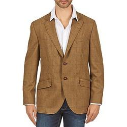 textil Hombre Chaquetas / Americana Hackett TWEED WPANE Marrón