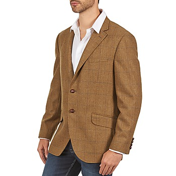 Hackett TWEED WPANE Marrón